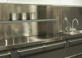 Corrales, NM Stainless Steel Countertop