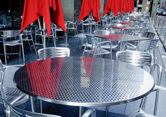 Placitas, NM Stainless Steel Tables