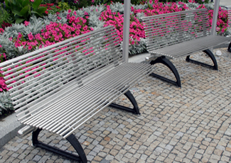 Stainless Steel Benches - Sandia Heights, NM